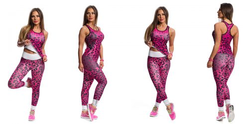 Ladies fitness clothing