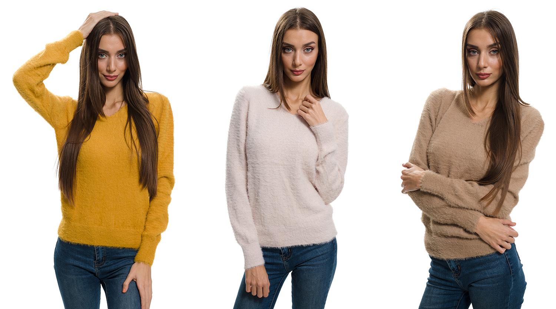 Продуктови снимки на пуловери и рекламен видео клип